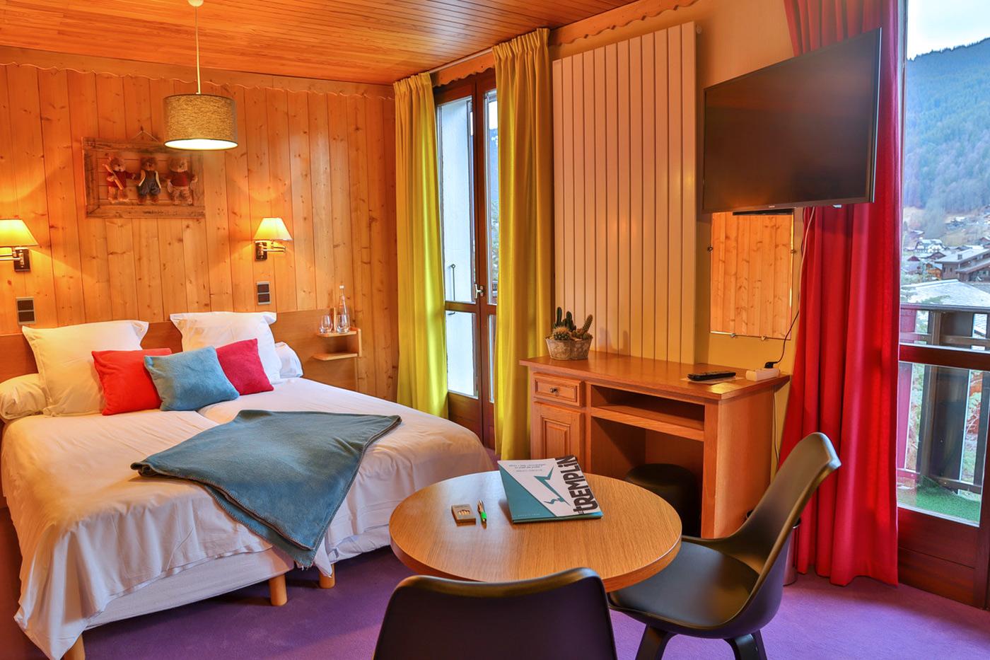 Chambres Hôtel Le Tremplin, Morzine