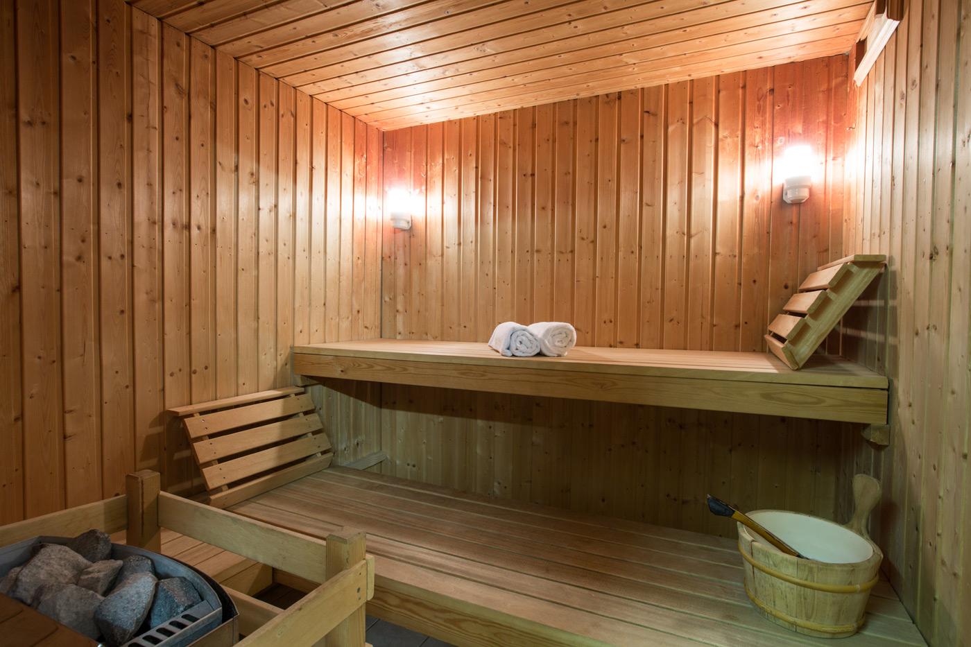 Sauna Hôtel Le Tremplin, Morzine