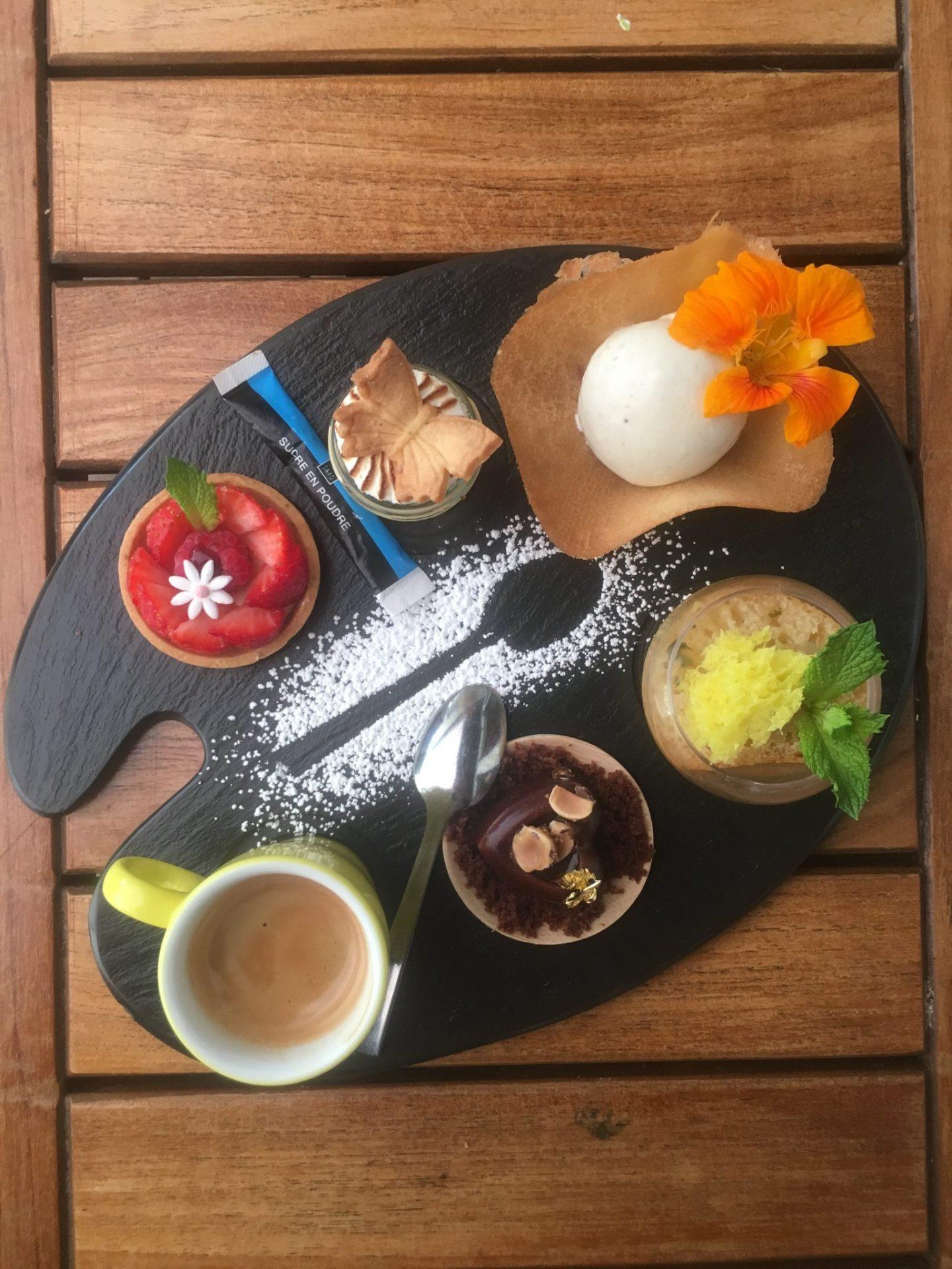 cafe gourmand hotel tremplin